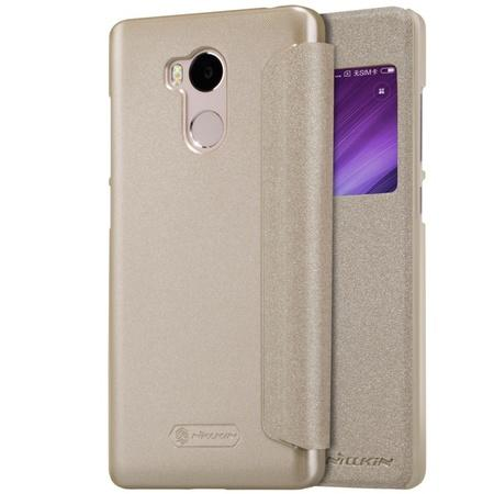 Nillkin Sparkle Leather Case Xiaomi Redmi 4 Pro Gold