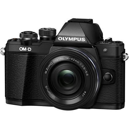 Olympus E-M10 Mark II 1442 EZ kit black/black