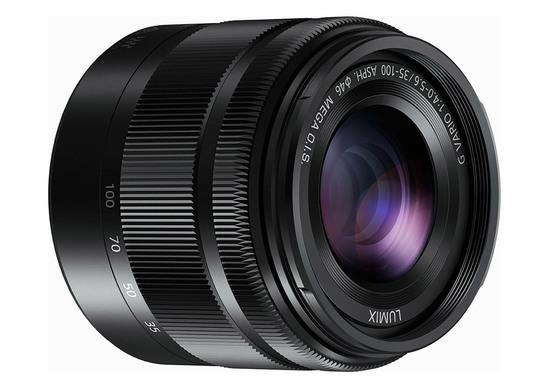 Panasonic Lumix G Vario 35-100 mm F4-5.6 ASPH blac