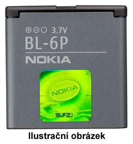BL-6P Nokia baterie 830mAh Li-Ion (Bulk)