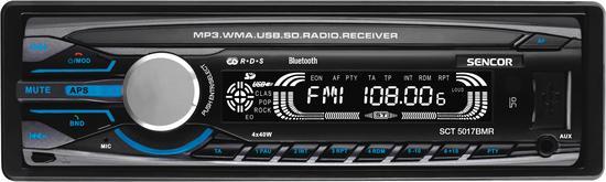 SENCOR SCT 5017BMR BT AUTORÁDIO s USB/SD