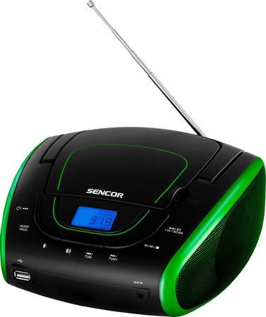SENCOR SPT 1600 BGN Rádio S CD/MP3/USB