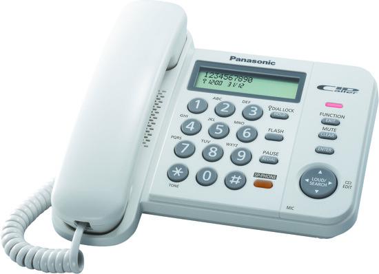 PANASONIC KX TS580FXW telefon, TFFSPATS580W