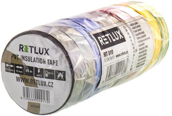 RETLUX RIT 010 izo.páska 10ks 0,13x15x10