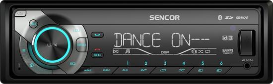 SENCOR SCT 5051BMR AUTORÁDIO S USB/SD