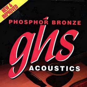 GHS S335 SET, AC GTR,PHBR,13/56 STRUNY