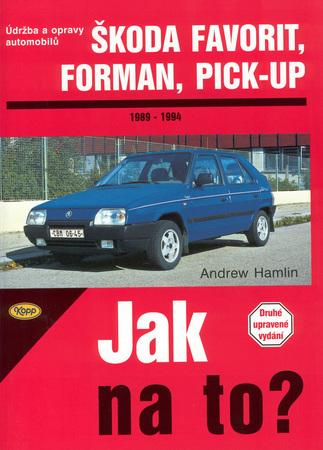 Škoda Favorit, Forman, Pick-up 1989 - 1994 - Hamlin Andrew