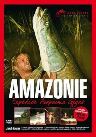 Vágner jakub: s jakubem na rybách – amazonie DVD
