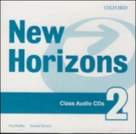 NEW HORIZONS 2 CLASS AUDIO CDs /2/ - RADLEY, P.;SIMONS, D.