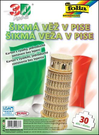 3D model Šikmá věž v Pise