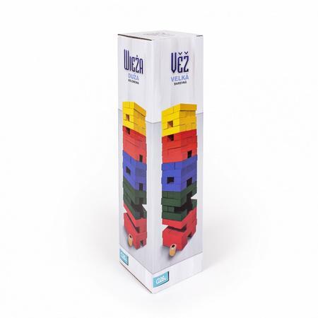 Věž velká barevná s kostkou