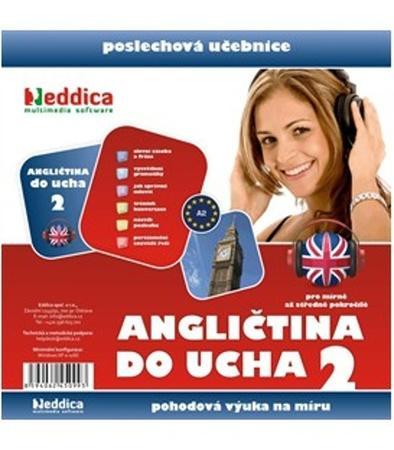 Angličtina do ucha 2 - Nové vydání 10 CD + 1 CD-ROM