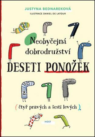 Neobyčejná dobrodružství deseti ponožek - Bednareková Justyna