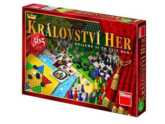 KRÁLOVSTVÍ HER (365 HER) Rodinná hra