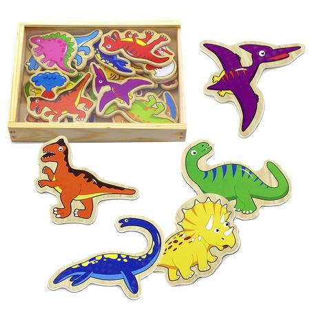 Studo Wood dinosaurus 20 kusů