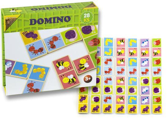 Studo Wood Domino hmyz