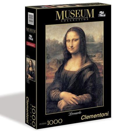 CLEMENTONI Puzzle Mona Lisa 1000 dílků