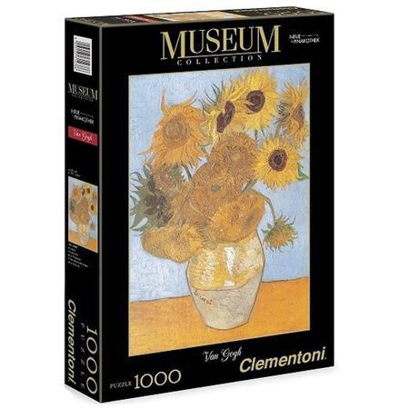 CLEMENTONI Puzzle Slunečnice 1000 dílků