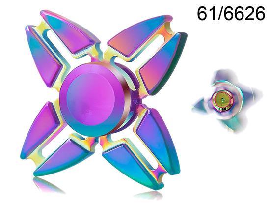 Fidget Spinner Duhový Crazy Gyro II