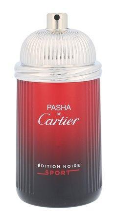 Cartier Pasha De Cartier Edition Noire Sport toaletní voda 100ml Pro muže TESTER