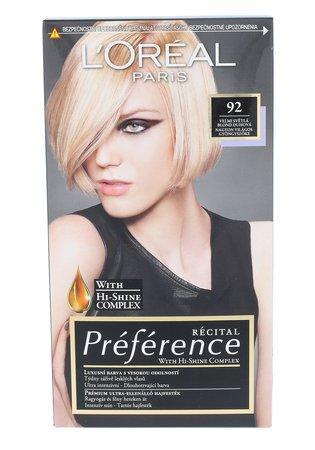 L´Oréal Paris Barva na vlasy Féria Préférence 92 Iridescent Blonde