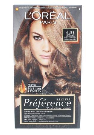 L´Oréal Paris Barva na vlasy Récital Préférence 6.35/A3 Havane