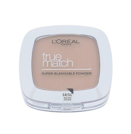Pudr L´Oréal Paris - True Match , 9, C3, Rose, Beige