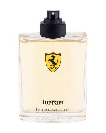 Toaletní voda Ferrari - Scuderia Ferrari Red , TESTER, 125ml