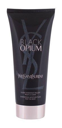 Yves Saint Laurent Black Opium - tělové mléko se třpytkami 200 ml