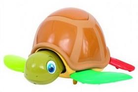 Turtle Fun želva 22cm na baterie se zvukem v krabičce