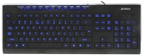 A4tech KD-800L multimediální klávesnice, 210460037704