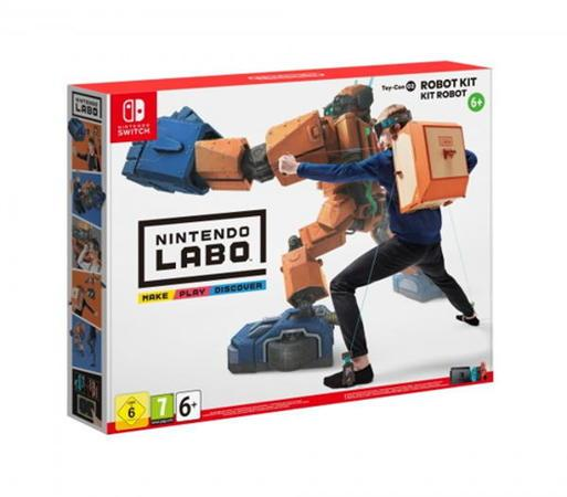 Nintendo SWITCH Labo Robot Kit (27.4.2018)