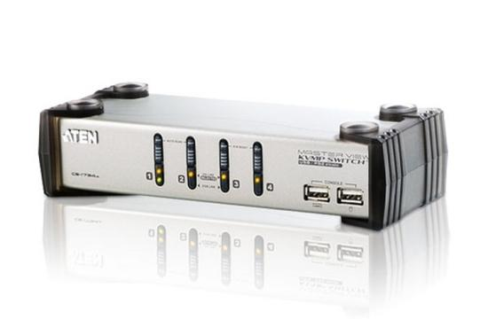 ATEN CS1734AC-AT 4 PORT KVM & USB FOR PS2 W/1.8, CS1734AC-AT