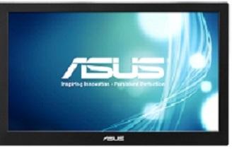 "ASUS MB168B 15.6"" (39.6cm) W TN LCD/16:9/1366x768/ 500:1/11ms/200cd/m2/Pivot/USB3.0"