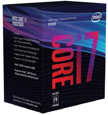 Intel Core i7-8700 BX80684I78700, BX80684I78700
