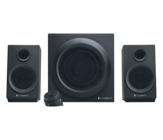 LOGITECH Z333 reproduktory 2.1 black, 980-001202