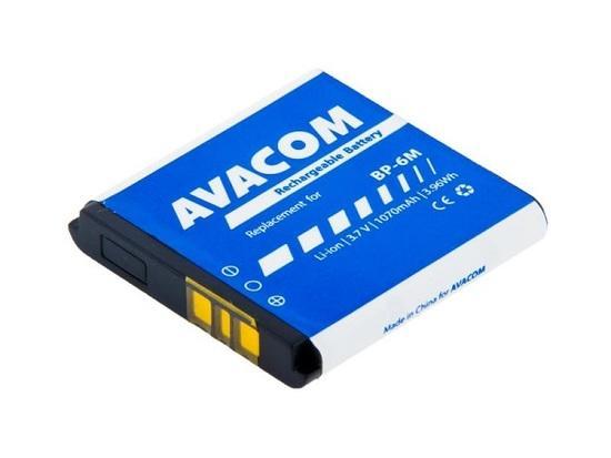 Baterie AVACOM GSNO-BP6M-S1070 1070mAh - neoriginální