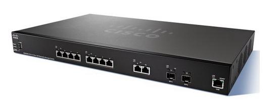 Cisco SG350-10 10-port Gigabit POE Managed Switch, SG350-10-K9-EU