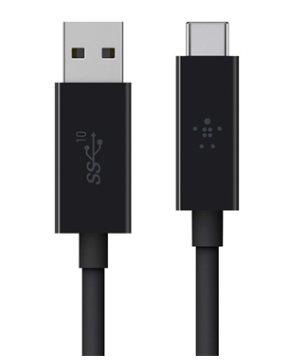 Belkin F2CU029bt1M-BLK USB 3.1 USB-C to USB A 3.1