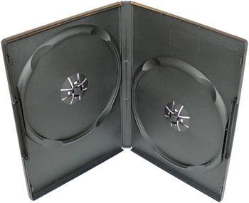COVER IT Krabička na 2 DVD 9mm slim černý 10ks/bal, 27026P10