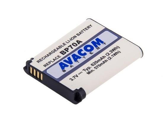 Baterie Avacom Samsung BP-70A Li-ion 3,7V 620mAh