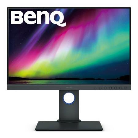 """BenQ LCD SW240 24,1"""" IPS LED/1920x1200/5ms/HDMI1.4/DP1.2/DVI/USB/pivot/10bit/99% AdobeRGB/Flicker-free/Low Blue Light"""