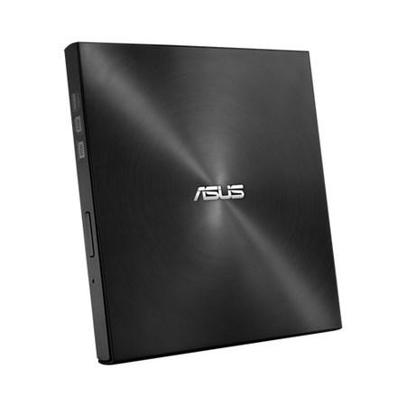ASUS DVD Writer SDRW-08U7M-U BLACK RETAIL, External Slim DVD-RW, black, USB, 90DD01X0-M29000