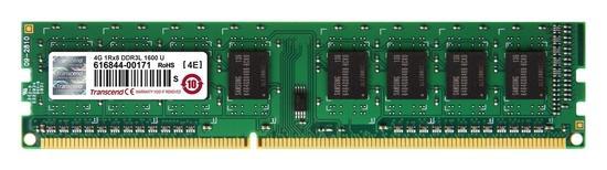 Transcend DDR3L 4GB 1600MHz CL11 TS512MLK64W6H, TS512MLK64W6H