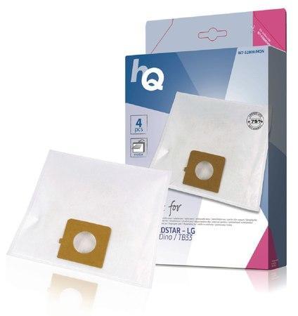 Náhradní sáček do vysavače H.E. - Goldstar - LG Sweefty/Dino/TB33 (4 + 1ks) W7-52800/HQN