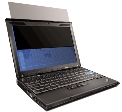 Lenovo TP ochranná fólie ThinkPad X270, X260, X250, X240, X230, X220 Series 12W Privacy Filter, 0A61
