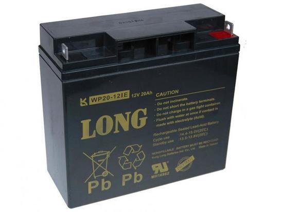 Baterie Avacom Long 12V 20Ah olověný akumulátor DeepCycle AGM F3, PBLO-12V020-F3AD