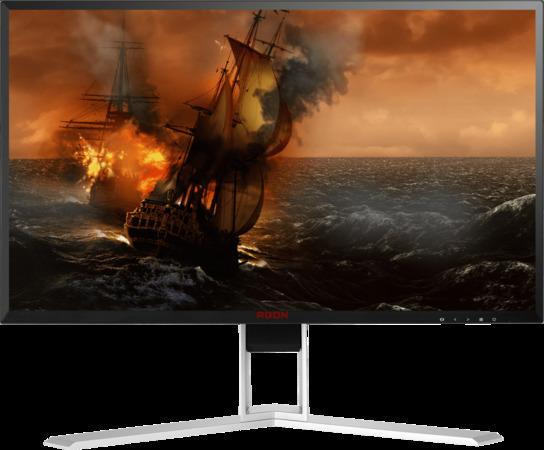 """AOC LCD AGON herní AG241QG 23,8"""" G-Sync/2560x1440@165Hz/1ms/50m:1/VGA/DVI/2xHDMI/4xUSB/DP/repro/vesa, AG241QG"""