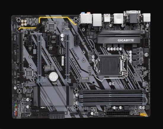 GIGABYTE MB Sc LGA1151 H370 HD3, Intel H370, 4xDDR4, VGA, H370 HD3