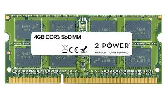 2-Power SODIMM DDR3 4GB MEM0802A, MEM0802A